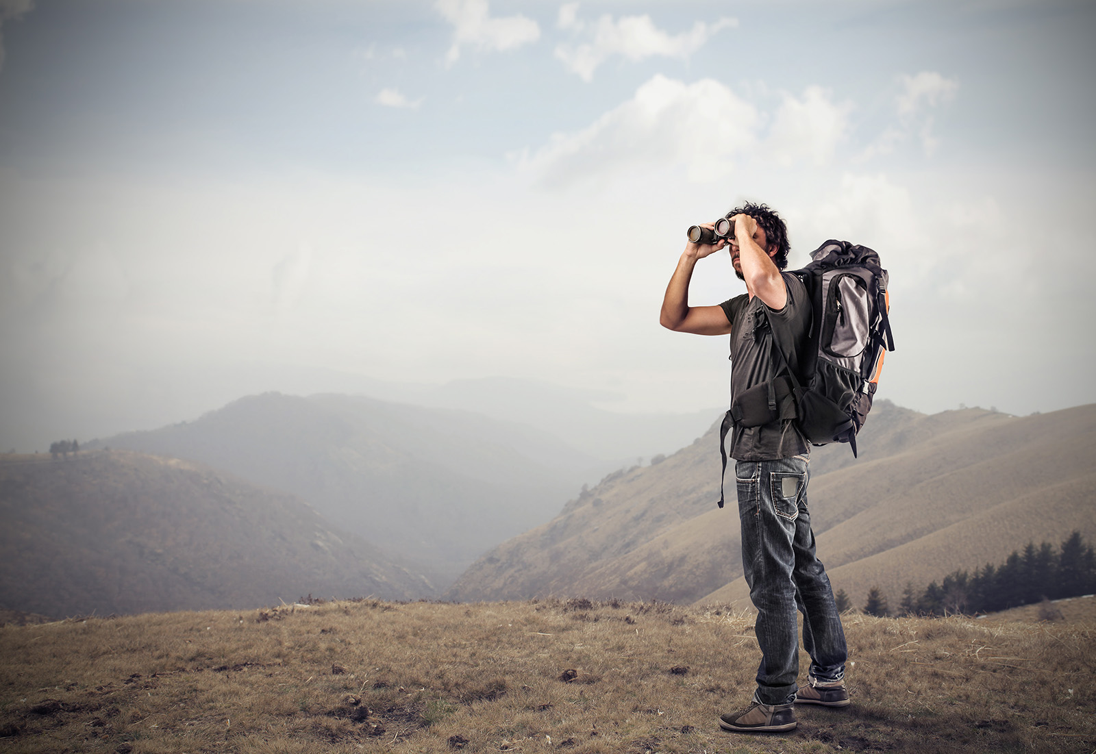 Alltid på utkikk etter nye villmarksopplevelser